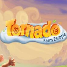 Tornado Farm Escape logo logo