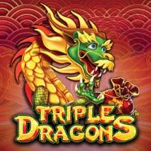 Triple Dragons logo logo