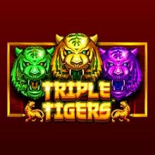 Triple Tigers logo logo