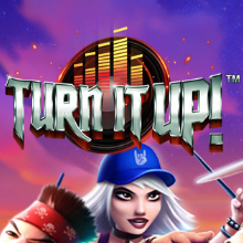 Turn It Up logo logo