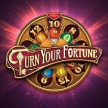 Turn Your Fortune logo logo