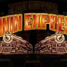 Twin Express logo logo