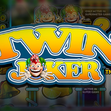 Twin Joker logo logo