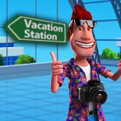 Vacation Station Deluxe logo logo