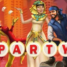 Vegas Party logo logo