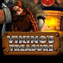 Viking's Treasure logo logo