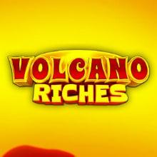Volcano Riches logo logo