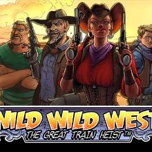 Wild Wild West - The Great Train Heist logo logo