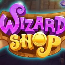 Wizard Shop logo logo