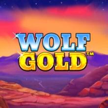 Wolf Gold logo logo