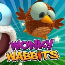 Wonky Wabbits logo logo