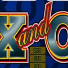 X and O logo logo