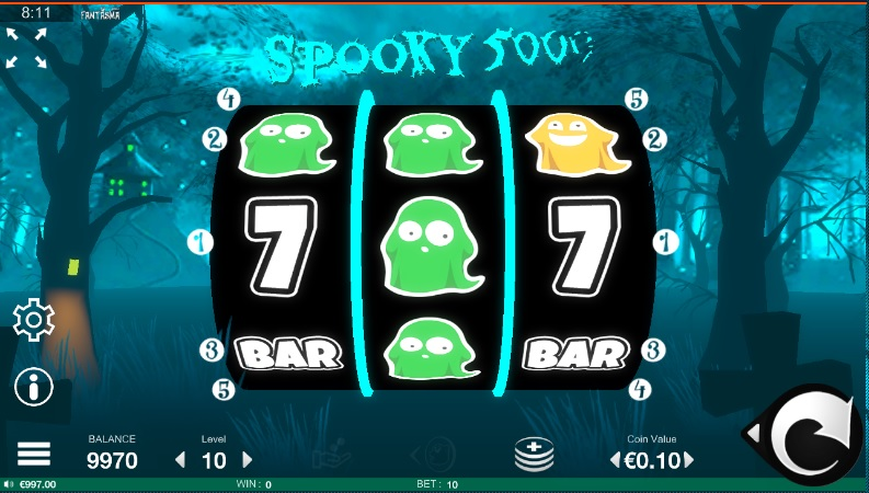 Spooky 500 gokkast