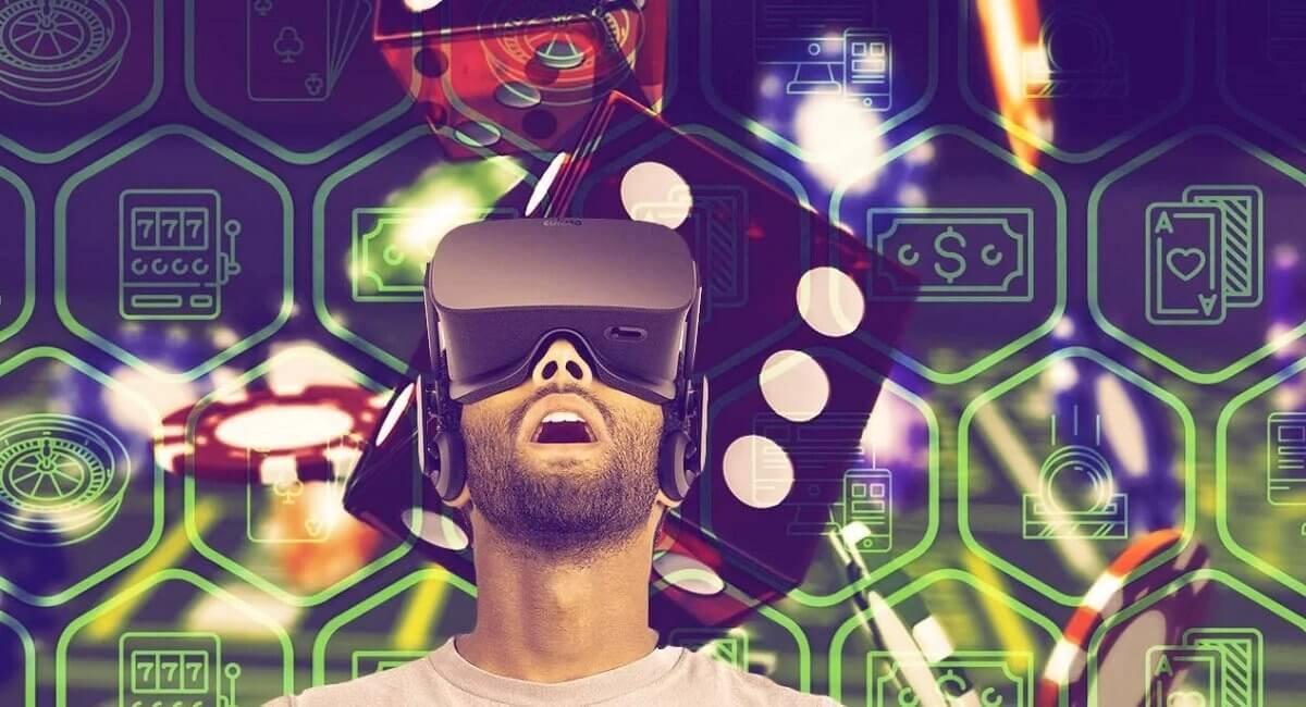 VR bril in het casinno