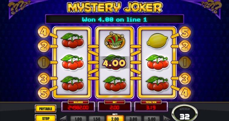 Uitbetalen op Mystery Joker